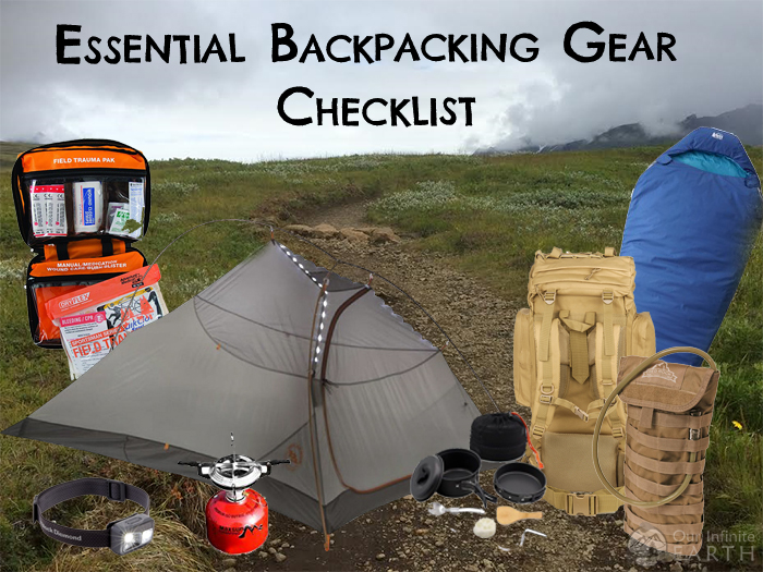 Backpacking Gear Checklist Ultralight