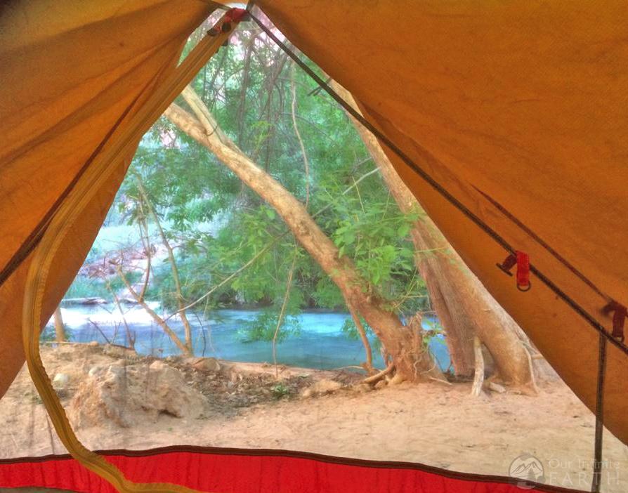 havasupai camping