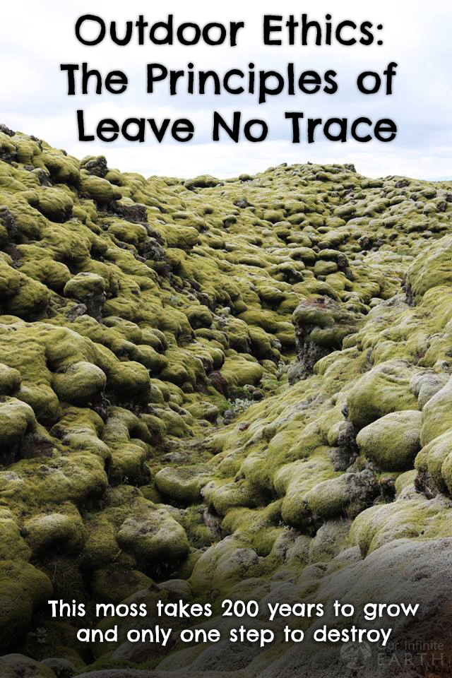 outdoor ethics leave no trace