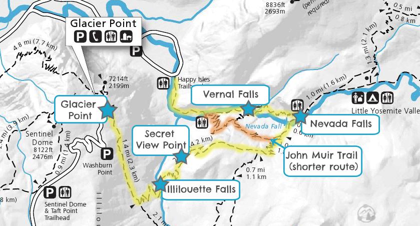 panorama-trail-yosemite-hiking-map