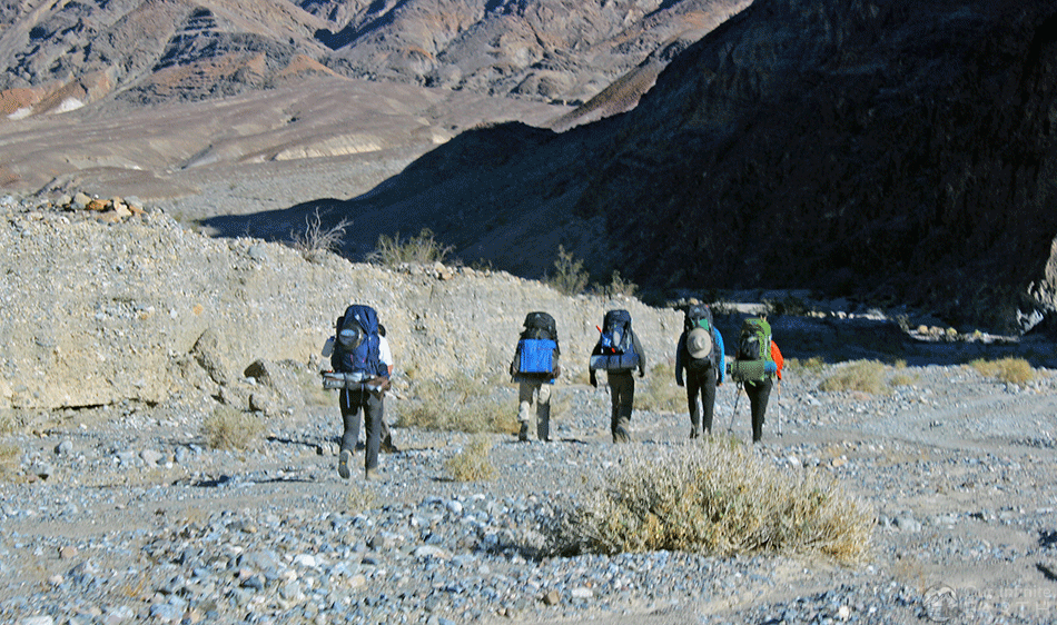 cottonwood canyon backpacking