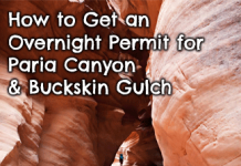 getting-paria-canyon-backpacking-permit