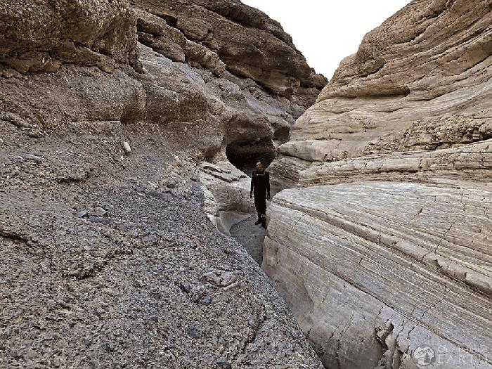 mosaic canyon hiking map guide