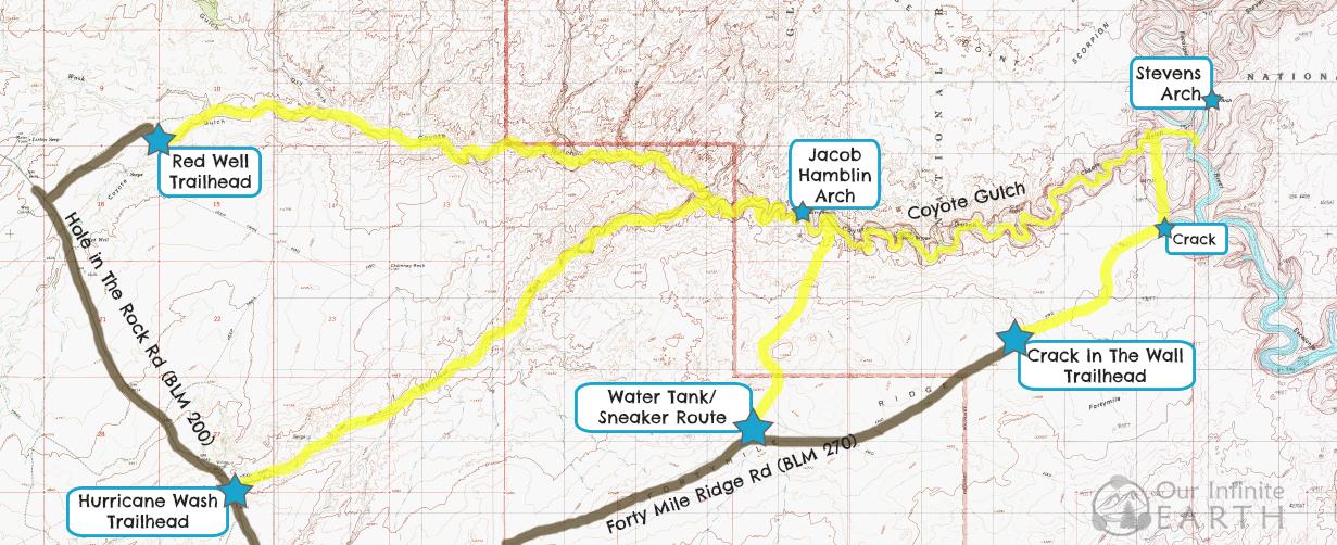 coyote-gulch-trailhead-map