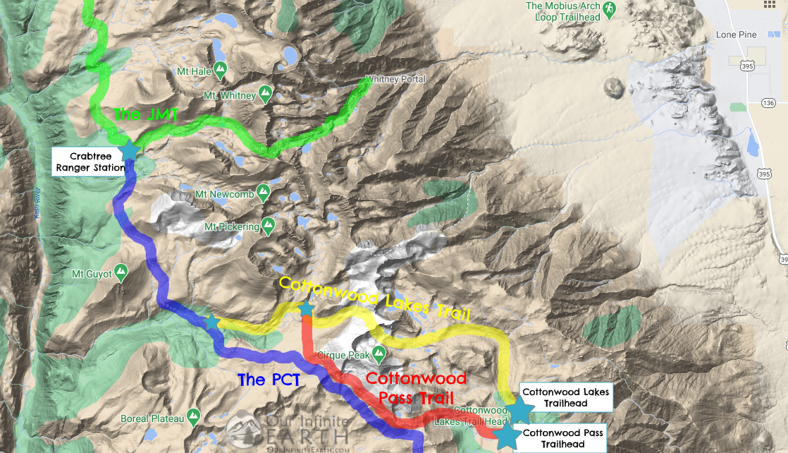 NOBO-JMT-trailhead-map