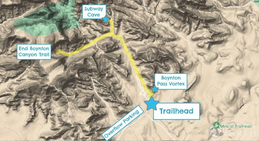 subway-cave-sedona-map