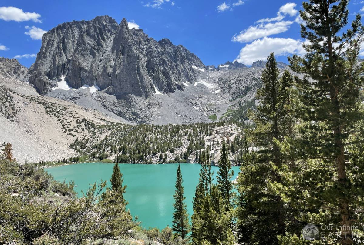 second lake big pine