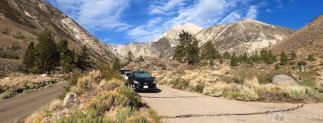 big pine overnight parking lot